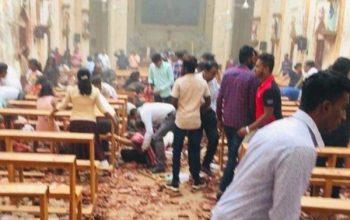 При взрывах на Шри-Ланке около 700 человек погибли и ранены