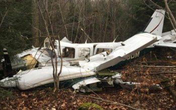При крушении небольшого самолёта в Техасе погибли два человека