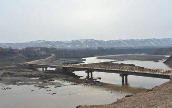 Мост «Чангал» был разрушен в Тахаре