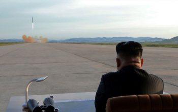 Испытание нового вооружения в КНДР