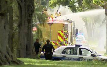 Двое полицейских погибли при стрельбе на Гавайях