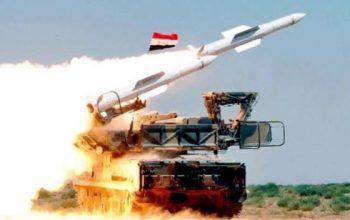 Средства ПВО Сирии отразили ракетную атаку в провинции Хама