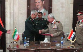 Тегеран и Дамаск подписали соглашение о военном сотрудничестве в сфере безопасности