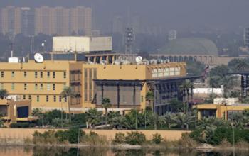 Американское посольство в Багдаде подверглось ракетному обстрелу