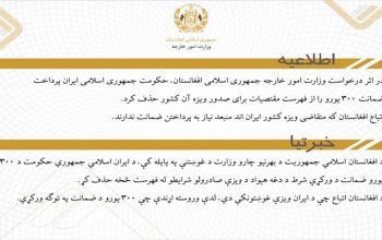 300 یورو از مقتضیات ویزه ایران حذف شد