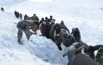 لغزش کوه و برفکوچ در بدخشان 11 کشته و زخمی بجا گذاشت