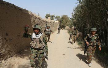 آغاز عملیات نظامی بالای مواضع طالبان مسلح در بغلان