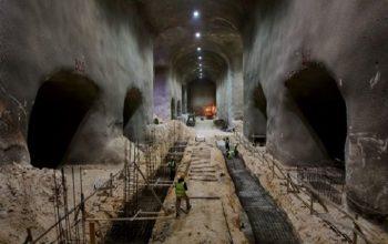 ساخت تونلهای عظیم برای دفن اسرائیلیها در زیر شهر قدس آغاز شد