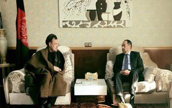 صلاح الدین ربانی با بزرگان جهاد روی مسایل سیاسی اخیر کشور بحث و گفتگو کردند