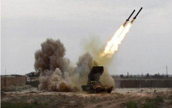 حمله موشکی یمن، به تجمع نیروهای ائتلاف عربی در نجران عربستان