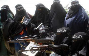 1000 زن داعشی برای حملات تخریبی به لیبیا رفتند