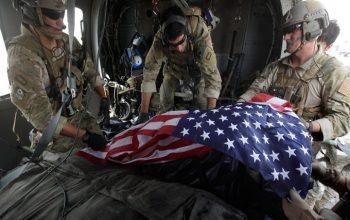 مرگ 2263 آمریکایی در افغانستان