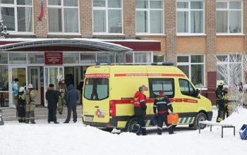 حمله مردان نقاب دار به یک مکتب در روسیه 9 زخمی برجای گذاشت