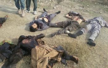 7 طالب مسلح کشته و 3 تن دیگر شان در ولایت کندز بازداشت شدند