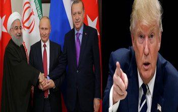 نگرانی آمریکا از مثلث روسیه، ایران و ترکیه