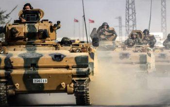حمله ارتش ترکیه به شهر عفرین سوریه