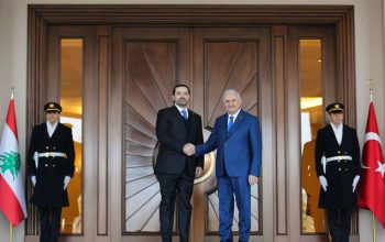 نخست وزیران کشورهای لبنان و ترکیه با هم دیدار کردند