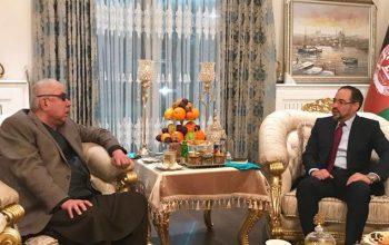 صلاح الدین ربانی و جنرال دوستم در مورد مسايل اخير در كشور باهم گفتگو كردند