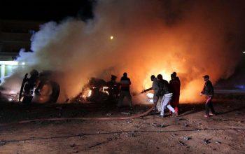 انفجار تروریستی در شهر بنغازی لیبیا، 40 نماز گذار را به کام مرگ برد