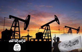 استخراج نفت از سوی طالبان مسلح و گروه تروریستی داعش در ولایت سرپل