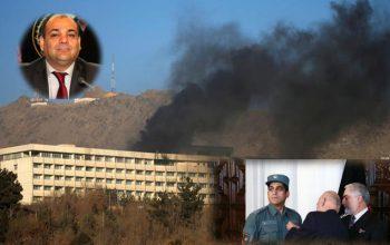 هنوز حمله بر هوتل کانتیننتال پایان نیافته بود که وزیر داخله…