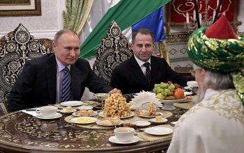 استقبال پوتین از افزایش تعداد مساجد و مسلمانان در روسیه