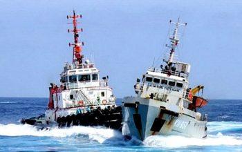 برخورد 2 کشتی در آبهای چین جان 30 ایرانی را گرفت