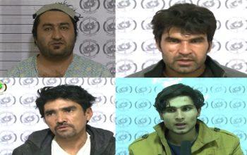 بازداشت یک گروه اختطافچی توسط ریاست امنیت ملی در کابل