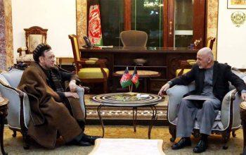 رییس جمهور با رهبران سیاسی و جهادی افغانستان دیدار کرد