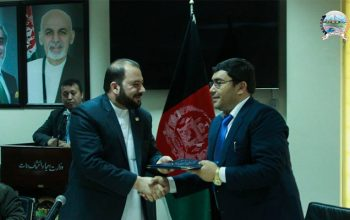 قرار داد 6 پروژه انکشافی به ارزش 600میلیون افغانی امضا شد