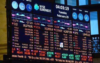 سرمایهگذاران از سقوط بازار بورس نیویارک وحشتزده شده اند