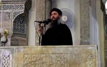 ابوبکر بغدادی رهبر گروه تروریستی داعش زنده است