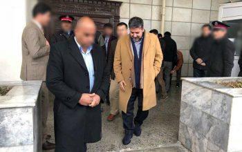 رحمت الله نبیل عضو رهبری «محور مردم افغانستان» وارد کابل شد
