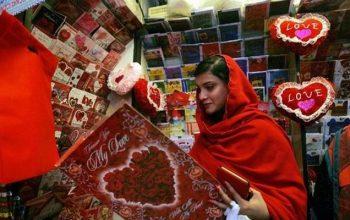 تجلیل از روز «ولنتاین» در پاکستان ممنوع شد