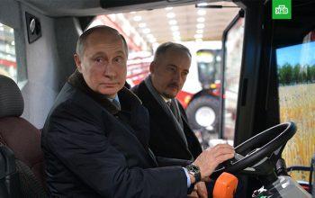 پوتین : اگر در انتخابات برنده نشوم راننده «کمباین» میشوم