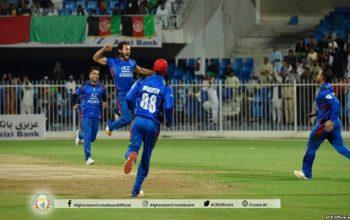 تیم کرکت افغانستان در بازی دوم خود زیمبابوی را شکست داد
