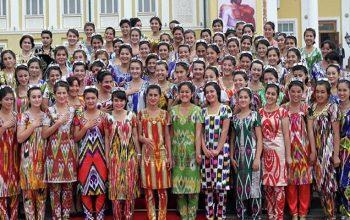 جمعیت تاجیکستان به هشت میلیون و 700 هزار نفر رسید