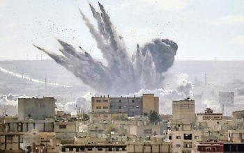 انفجارهای شدیدی شهر دمشق پایتخت سوریه را لرزاند