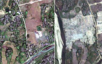 دیده بان حقوق بشر: دولت میانمار روستاهای روهینگیاییها را با بلدوزر تخریب کرده است