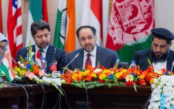 سخنرانی سرآغاز صلاح الدین ربانی، وزیر امور خارجۀ  در  پروسۀ کابل