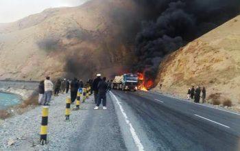 زخمی شدن 8 تن در رویداد ترافیکی در ولایت بغلان