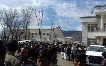 چهار تن از معترضان امتحان کمیسیون انتخابات در بدخشان زخمی شدند
