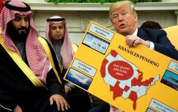 ترامپ در کاخ سفید محمد بن سلمان را تحقیر کرد