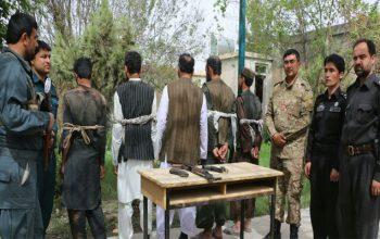 پنج دزد مسلح در ولایت کندز بازداشت شدند
