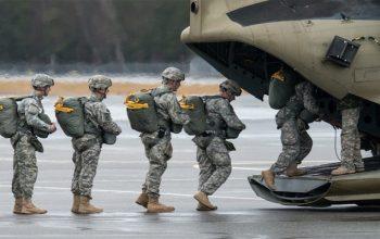 1هزار سرباز تازه نفس آمریکایی به افغانستان اعزام شد