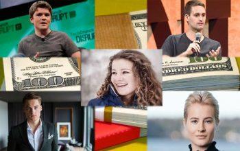 جوانترین میلیونرهای جهان را میشناسید؟