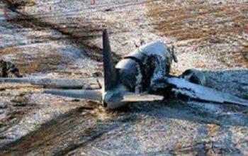 یک هواپیمای جاسوسی اسرائیل در لبنان سقوط کرد