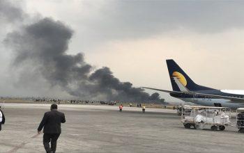 یک هواپیما مسافربری در نیپال سقوط کرد