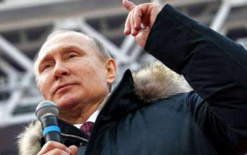 پوتین تا سال 2024 به حیث رییس جمهور روسیه انتخاب شد