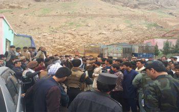 معترضان: شاهراه کابل – شمال را تا نیم ساعت دیگر میبندیم